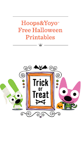 free halloween printables hoops u0026yoyo free halloween printables hallmark ideas u0026 inspiration