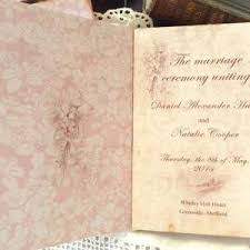sle of wedding program wedding program vintage style custom on luulla