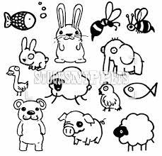 cute drawings animals easy drawings of cute animals step step