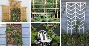 25 chic diy garden trellis plans designs and ideas u2013 crafts u0026 diy