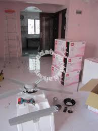 lampu kipas rumah baru dan renovate elektrik services available