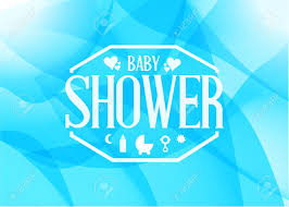 baby shower sign baby shower sign illustration design blue abstract graphic
