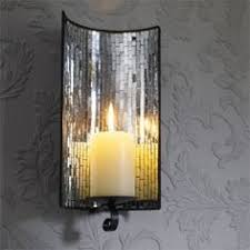 Glass Candle Wall Sconces Imposing Design Mirror Wall Candle Holders Homely Ideas Hurricane