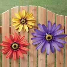 Garden Metal Decor Metal Garden Flowers Outdoor Decor Indelink Com
