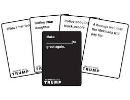 cards against humanity for sale cards against humanity donald version popsugar news