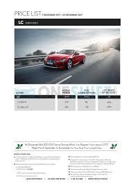 lexus price 2017 lexus singapore printed car price list oneshift com