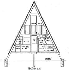 a frame cabin floor plans a frame house plans a frame house plan elevation post frame house