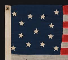Star Flag Maker Jeff Bridgman Antique Flags And Painted Furniture 13 Curiously