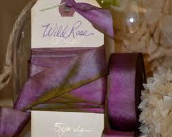 hanah silk ribbon mango dyed silk ribbon by hanah silk 1 inch