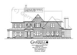fairfield c house plan country farmhouse southern