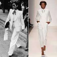 white tuxedo jumpsuit how to rock a jumpsuit for work and play
