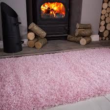 Hearth Rug Clearance Soft Baby Pink Shaggy Fireplace Rug Ontario Kukoon