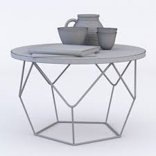coffee table magnificent west elm origami coffee table 3d model
