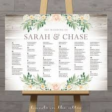 wedding table assignment board rustic seating charts for weddings chart ideas poster wedding