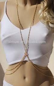 body chain necklace images Hot gold chain necklace slave body chain buy slave body chain jpg