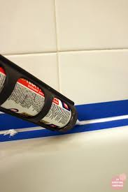 Silicone For Bathtub How To Re Caulk A Bathtub