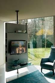 porta tv soffitto mobile porta tv moderno girevole in legno mediacenter by t
