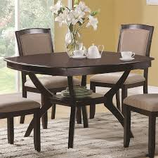 coaster furniture 102755 memphis rounded square dining table in coaster furniture 102755 memphis rounded square dining table in cappuccino