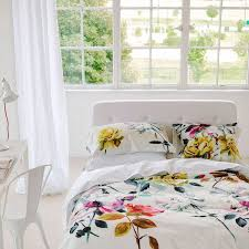 chambre fleurie linge de lit 30 modèles pour la chambre côté maison