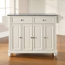 crosley cambridge solid black granite top kitchen island hayneedle