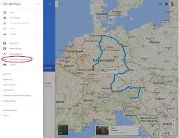Giigle Maps Google Maps Routen Vom Web Auf Smartphone übertragen Trift