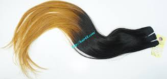 Black To Brown Ombre Hair Extensions by Price For 3 Piece 18