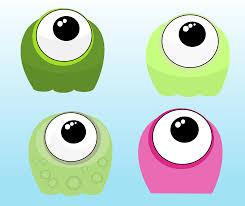 clipart cute funny aliens