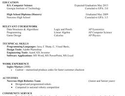 Computer Science Resume No Experience Favored Resume Wizard Openoffice Tags Resume Wizard Free Resume