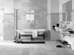 White Tile Bathroom by Bathroom Modern Bathroom Floor Tile Designs Black And White