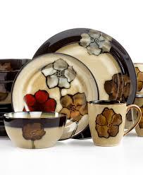 pfaltzgraff painted poppies dinnerware collection dinnerware
