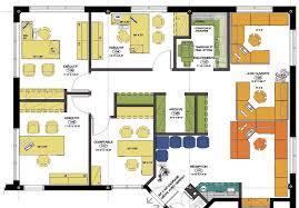 plan des bureaux ghislain hogue comptable agréé aménagement commercial couzin design