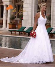 halter neck wedding dresses halterneck wedding dresses ebay