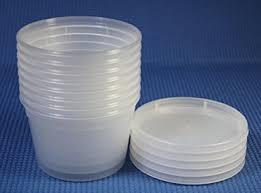 amazon com deli food storage containers with lids 16 ounce 50