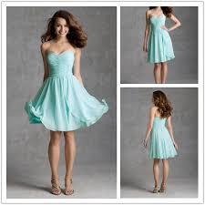new fashion sweetheart knee length mint green bridesmaid dresses
