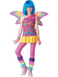 halloween costume tween rainbow fairy costume tween ebay