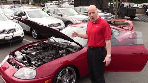 1993 toyota supra twin turbo review joe tunney dropping some