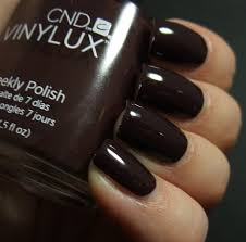 cnd u2013 vinylux u2013 114 fedora u2013 international beauty depot
