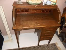 vintage roll top desk value bradford oak roll top desk value creative desk decoration