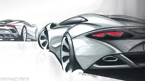 supercar drawing arrinera automotive releases sketches of their production supercar