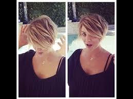 big bang pennys hair cut kaley cuoco chops her locks again debuts new pixie hair cut youtube