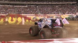 monster jam lucas oil crusader freestyle east rutherford