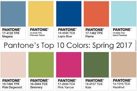 pantone color forecast 2017 summer 2017 fashion trends top 10 key colors