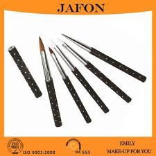 acrylic nail brush kolinsky nail brush with nail polish brush cap