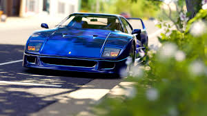 blue f40 free stock photo of blue f40 car domain photo cc0 images