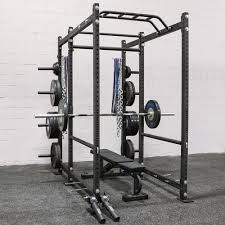rogue r 6 power rack weight training extra plate storage