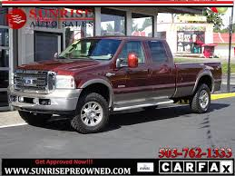 Ford Diesel Turbo Trucks - 2006 ford f 350 4wd turbo diesel king ranch low miles super nice