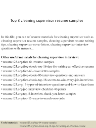 Resume Samples Janitorial Positions by Supervisor Job Resume Free Resume Example And Writing Download