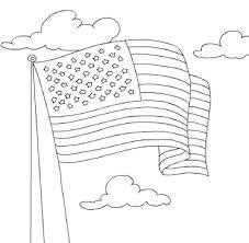 kidscolouringpages orgprint u0026 download american flag coloring