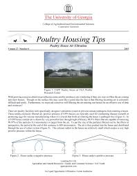 House Structure Parts Names by Poultry Housing Tips Poultry Environmental Management U0026 Energy