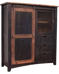 farmhouse armoire savings on greenview rustic black farmhouse style armoire